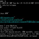 Rock64でaarch64版Arch Linuxを起動するには