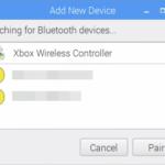 Raspberry PiにBluetoothでワイヤレス・ゲームパッドを接続するには
