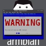 ArmbianをeMMCやUSB接続のストレージにインストールするには