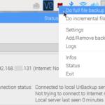 Raspberry Piのデータや設定を自動バックアップするには UrBackup版